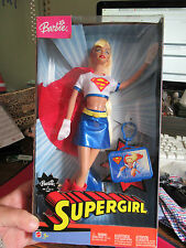 MATTEL BARBIE SUPERGIRL DOLL 2003 IN BOX UNUSED