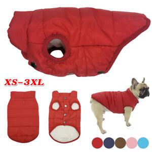 Dog Pet Vest Puppy Autumn Winter Warm Fleece Jacket Chihuahua Clothes 7 Sizes