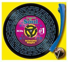 The #1 Legends of Soul - Various Artist [CD]