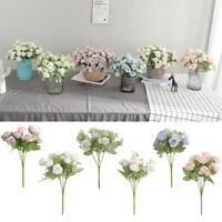 GI- 1Pc Artificial Rose Flower Photography Prop Wedding Bouquet Party Home Decor