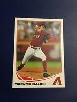 2013 Topps # 61 TREVOR BAUER ROOKIE RC Baseball Diamondbacks Indians Reds HOT !