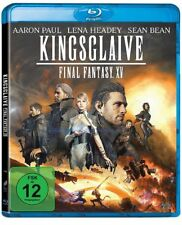 KINGSGLAIVE: FINAL FANTASY XV (Aaron Paul, Lena Headey) Blu-ray Disc NEU+OVP