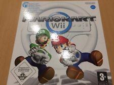 Nintendo Wii Mario Kart Volante Whell Inside Incluso FACTORY SEALED ITA RARO