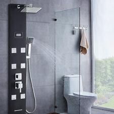 Bad Brausepaneel Duschpaneel Regendusche Duscharmatur mit LCD Display Duschset