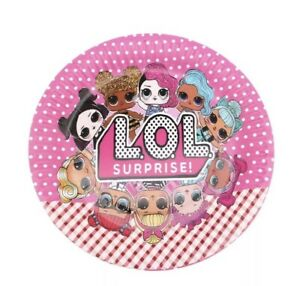 LOL SURPRISE! DOLLS Party Decorations and Tableware for 10 Guests