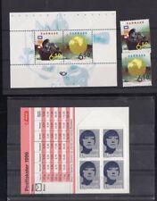 Denmark Stamps #1186-7 ,Booklet 1125, Blocks 9, Fv Nominal *Mnh