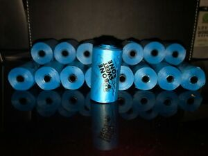 400 DOG PET WASTE POOP BAGS BlLUE REFILL ROLLS With FREE DISPENSER