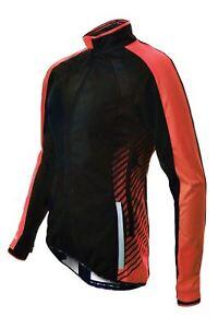 Cycling Jacket Funkier Tacona WJ-1324 Ladies Windstopper Black/Red X-Large