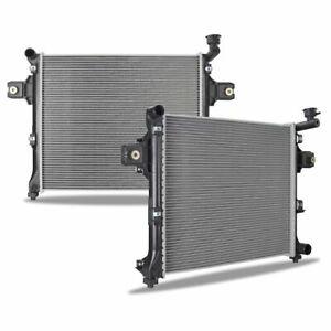 Primecooling 40MM 2 Row Core Aluminum Radiator for Jeep Commander 2006-10; Grand Cherokee 2005-10