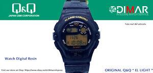 Vintage Watch Q&Q The Light. 9908, Wr 5m. Lap Memory 10. (M100 002)