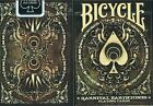 BICYCLE KARNIVAL EARTHTONE,poker size playing cards deck THEORY ellusionist