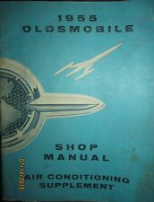 1955 Oldsmobile Shop Manual Air Conditioning Supplement Factory Original OEM