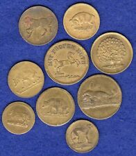 More details for germany, 9x various 19th century animal spiel marke (ref. t3671)