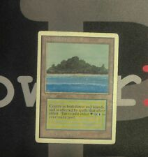 1 Tropical Island - Unlimited MtG Magic Land Rare old school 93/94 #9795