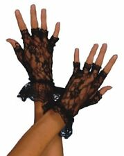 Gants noirs en Dentelle Femme Cod.45459