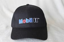 Mobil 1 Strapback Hat Black Adult Adjustable Cotton