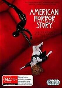 AMERICAN HORROR STORY: MURDER HOUSE SEASON 1 DVD 4 DISC SET HORROR CULT CLASSIC