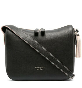 Kate Spade Anyday Medium Shoulder Hobo bag Pebbled Leather Black multi $298 NEW!
