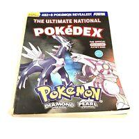 The Ultimate National Pokedex Diamond and Pearl Version Pokemon Nintendo Guide