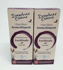 (9,90? /100ml) Aroma Körperöl Nachtruhe Lavendel 2 x 100 ml Dresdner Essenz