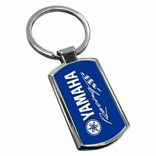 Yamaha Bike Keyring Chrome Metal New Key Chain Ring Fob Comes With Free Gift Box