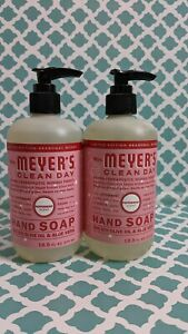 Mrs. Meyer's Clean Day Liquid Hand Soap Peppermint Scent 12.5fl oz ounce X2