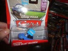 "DISNEY PIXAR CARS VEHICLE MATT ""TRUE BLUE"" MCCREW, NEVER OPENED"