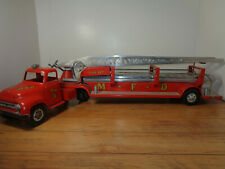 STRUCTO 1950'S M.F.D. # 5 HOOK AND LADDER FIRE TRUCK