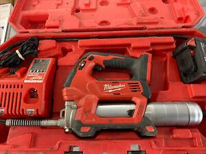 Milwaukee M18 2-Speed Grease Gun 2646-20 w/ 3.0Ah Battery
