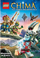 LEGO: Legends of Chima - Chi, Tribes, and Betrayals (DVD, 2014, 2-Disc Set)