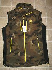 Men's $165. CAMO Polartec Fleece Vest (S) RLX-RALPH LAUREN (polo)