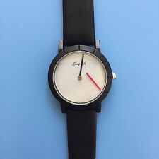 Modern Novelty Minimalist Wrist Watches with Floating Hands Gift