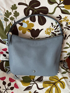 Kate Spade Blue Convertible Leather Bag