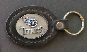 """TENNESSEE TITANS Siskyou 4""""Leather Key Ring NFL Licensed Merchandise *New*"""