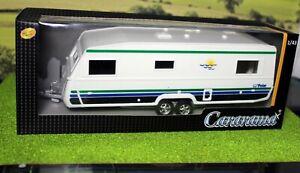 Cararama 1:43 scale Caravan Big Polar, Great for 0 Gauge Railways.