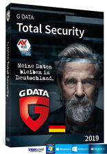 G Data Total Security 2019 Vollversion 1 PC - 1 Jahr + Handbuch Download NEU