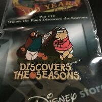 #32 100 Years of Dreams Winnie the Pooh Discovers the Seasons Disney Pin 7587