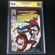 Amazing Spider-Man #361 💥 2X SIGNED STAN LEE + BAGLEY 💥 CGC SS 9.4 Marvel 1992