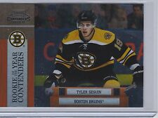10-11 2010-11 PLAYOFF CONTENDERS TYLER SEGUIN ROOKIE OF THE YEAR #12 BRUINS