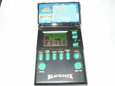 Vintage 1994 Micro Games Mini Vegas Blackjack Hand-Held Electronic video Game