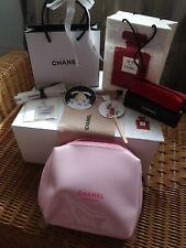 Chanel Vip Set 👛 Kosmetiktasche 💋Lippenstift Etui 💄 Brillensäckchen, Duftkart
