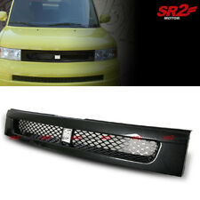 Front Grill Hood Upper Bb Mesh Carbon Fiber Abs Grille fits for 03-07 Scion xB (Fits: Scion)