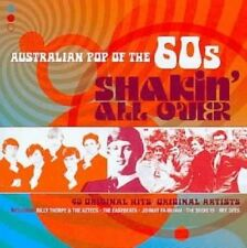 Australian Pop of The 60s Shakin All 0886970088022 by Various Artists CD