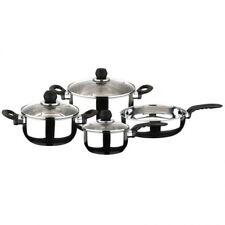 Bateria de cocina Magefesa Pactika de 7 piezas acero inoxidable set de ollas