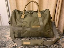 Briggs & Riley 280-7 Olive Green Ballistic Nylon Duffel Travel Weekender Bag