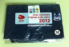 Animal Crossing CAT Polo Shirt NAVY Club Nintendo 2012 Size-Medium JAPAN NEW
