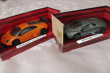 Diecast Lamborghini Reventon & Murcielago LP 670-4 SV cars 1:43 size