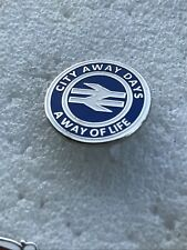 Rare Birmingham City Supporter Enamel Badge - City Away Days A Way  Of Life Zulu