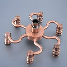 Antique Copper Rain Shower Head Rainfall Bathroom Top Sprayer