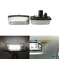 For Toyota Crown S180 Corolla Vios Previa ACR50 Noah Led License Plate Lights